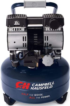 Campbell Hausfeld 6 Gallon Portable Quiet Air Compressor (DC060500)