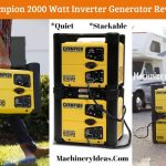 Champion 2000 Watt Inverter Generator Review (Portable + Stackable)