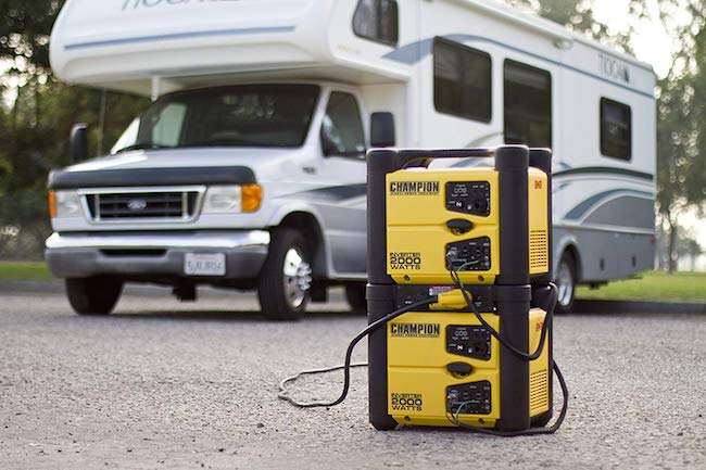 Champion 2000-watt portable inverter generator