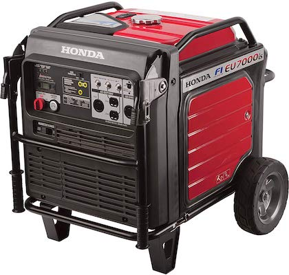 Honda Eu7000is Inverter Generator with Electronic Fuel Injection Food Truck