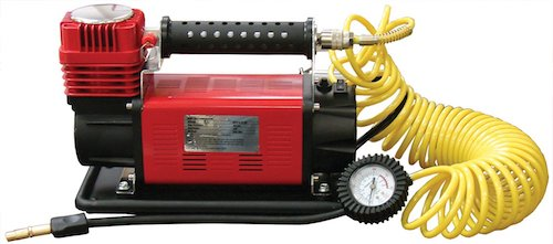 SuperFlow MV-9012 Volt Air Compressor, Portable Heavy Duty Air Pump 12v Air Compressor, Tire Inflator 150 PSI, by for Off Road Vehicles, Trucks