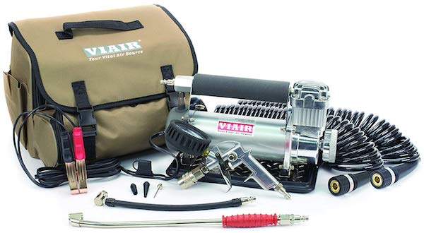 VIAIR 45053 Silver Automatic Portable Compressor Kit (450P-RV) for truck