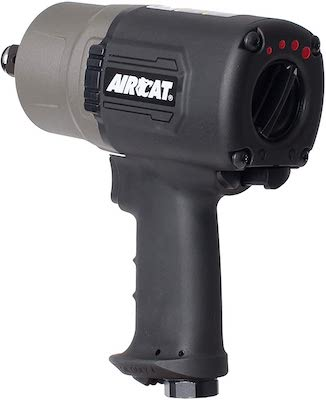 AIRCAT 1770-XL Super Duty Composite Impact Wrench, 3:4-Inch