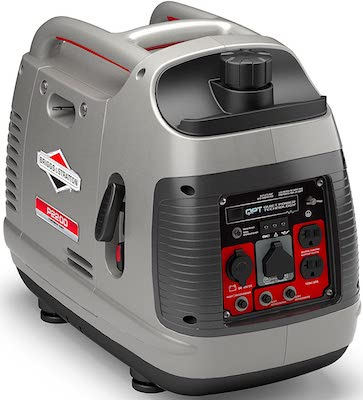 Briggs & Stratton P2200 Power Smart Series Inverter Generator with Quiet Power Technology